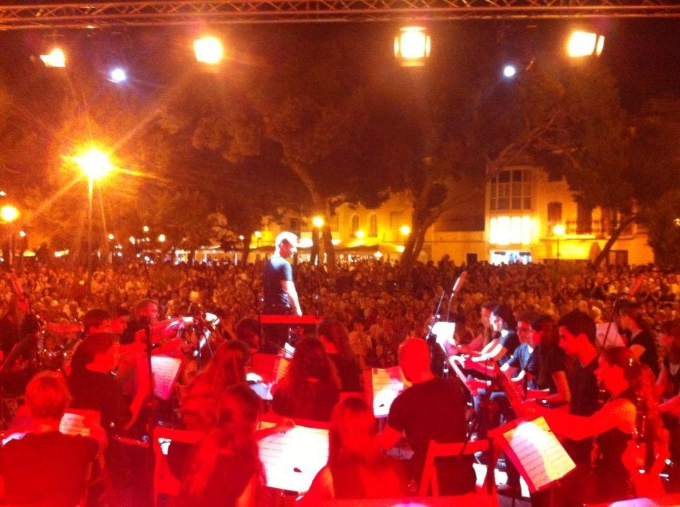Banda Ciutadella en plaça Pins