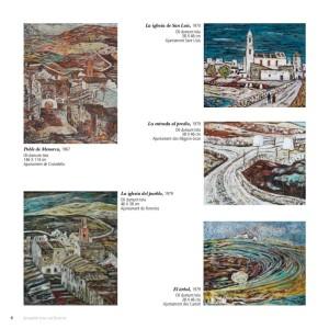 Algunas obras incluidas en la exposición.