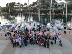 Foto de familia de los participantes (Fotos: CN Ciutadella)