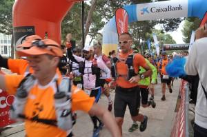 Salida de la carrera en Ciutadella (Fotos: Trail Menorca)