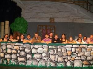 Equipo del musical 'Notes de Menorca'. Foto: 'Notes de Menorca'.