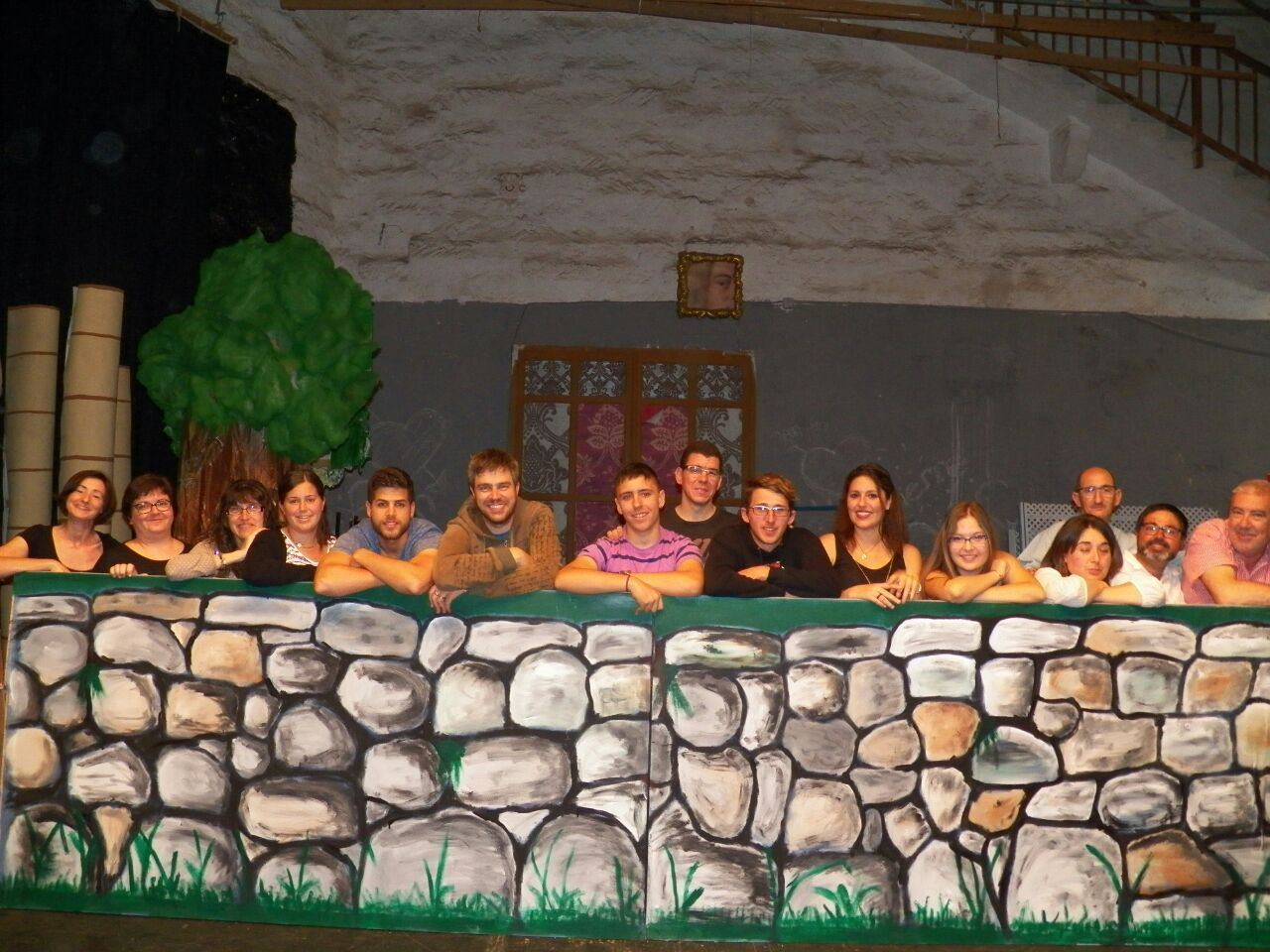 Equipo del musical 'Notes de Menorca'. Foto Notes de Menorca