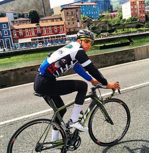 Sánchez, en un entrenamiento en Bilbao (Foto: @Rubbsgas)