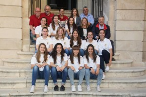 Foto del encuentro en el Ajuntament de Maó.