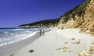 Playa de Binigaus (Foto: Fundació Destí)