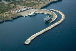 La capacidad del dique exterior aumentará con la ejecución de esta infraestructura. FOTO.- Ports Illes Balears