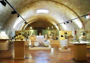 Interior del Museu Municipal de Ciutadella Bastió de sa Font.