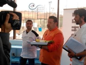 Alberto Chicote durante el cásting. Foto: Antena 3.