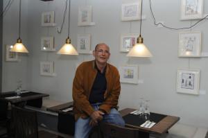 Víctor Codina en el restaurante Terra. Foto: Tolo Mercadal.