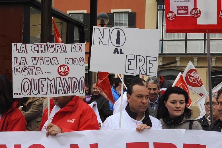 protesta vigilantes jurados y empleados de coca_cola