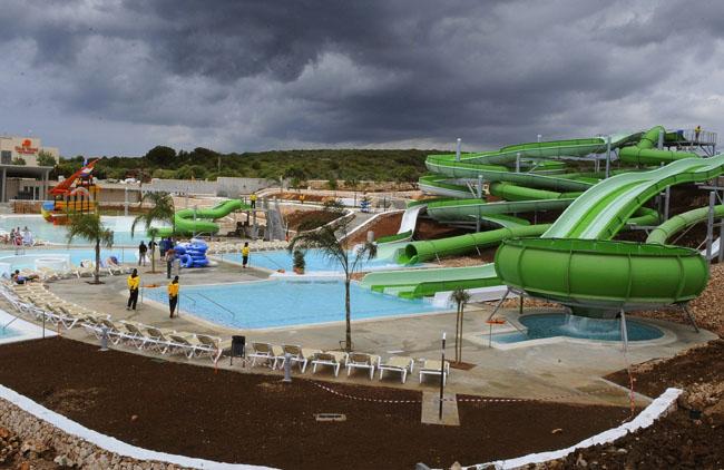 Splash Parque Acuatico De Biniancolla Menorca Al Día