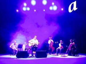 Cris Juanico estrenó 'F(a)usta' en Girona.