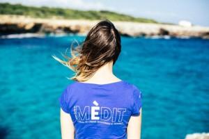 'Pou Nou' viste de Menorca a la organización del festival. FOTO.- Mèdit