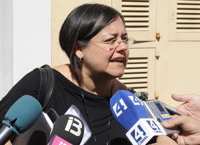 Cristina Gómez, concellera del Podemos en el Consell de Menorca
