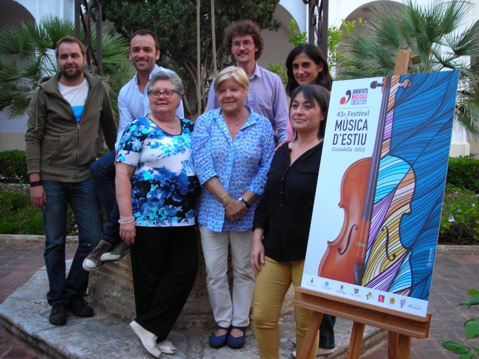 Actual directiva de Joventuts Musicals de Ciutadella.