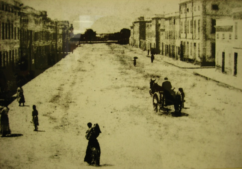 Parte de la Contramurada a finales del siglo XIX.