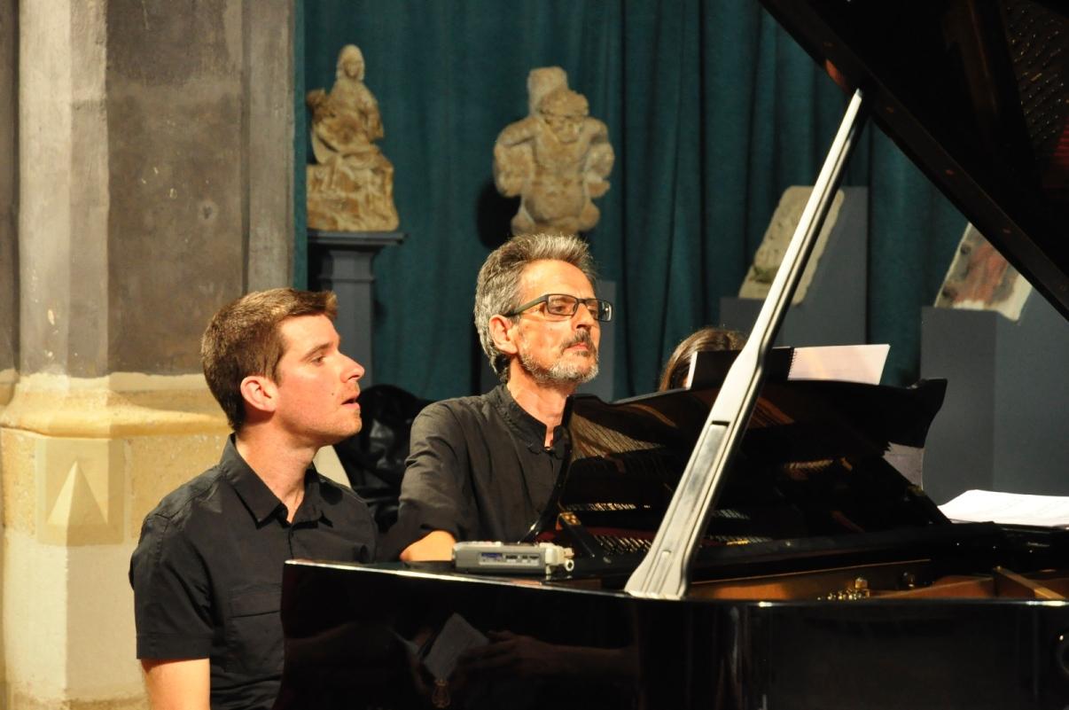 Marco Mezquida y Suso González han actuado juntos en otras ocasiones. Foto: Rafa Raga.