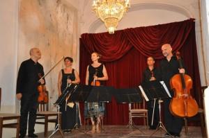 Musicaperta en formato quinteto. Foto: Rafa Raga.