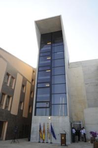 inauguracion nuevo ascensor port mao