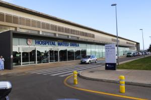 Hospital 'Mateu Orfila'. FOTO.- Archivo