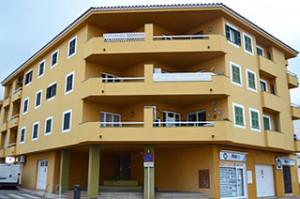 Promoción de viviendas situada en Ciutadella