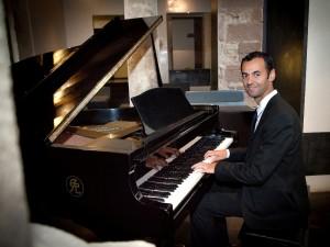 El pianista y compositor palentino Óscar Pascasio. Foto: O.P.
