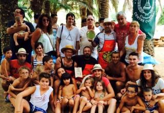 1 Concurso paellas Casino 17 Gener. Jurado con los ganadores. Foto Fra Roger