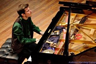 Marco Mezquida, durante una actuación (Foto: Antonio Narváez)