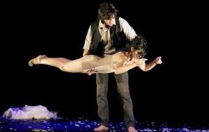 La compañía de teatro danza Vuelta y Vuelta.