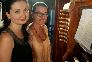Ulyana Popovich y Maria Camps. Foto: M.C.