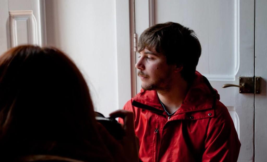 Macià Florit Campins durante el rodaje de la película Ardara (Foto: Elsabeth Produccions)