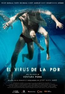Cartel de 'El virus de la por' de Ventura Pons