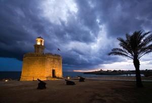 Castell de Sant Nicolau.