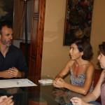 El vicepresidente Biel Barceló se ha reunido con representantes del GOB.
