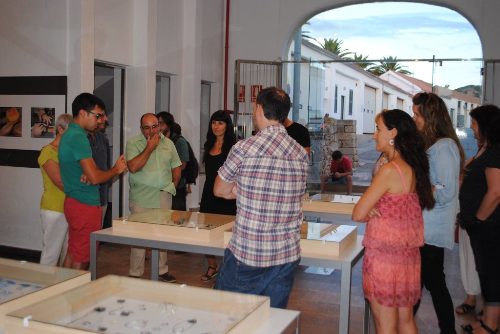 Inauguración expo Joia de Menorca en Es Mercadal. Foto Consell