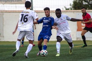 Momento de un partido disputado por La Peña contra el San Rafael. FOTO.- noudiario.es