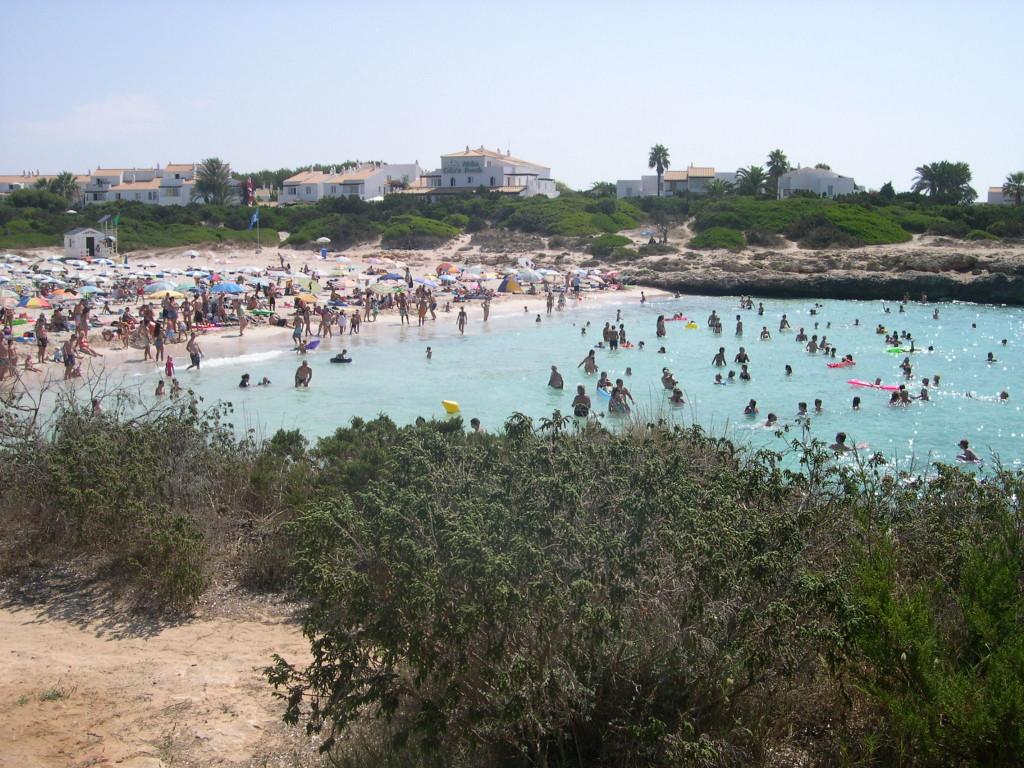 Playa de Cala'n Bosch.