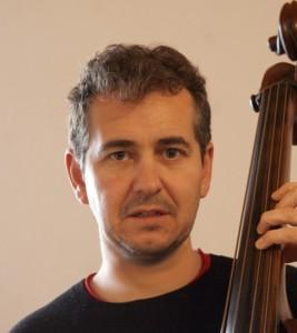 El contrabajista y compositor Jaume Coll.