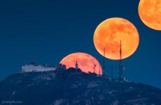 moonrise-el-toro. Foto www.photopills.com