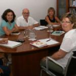 Santiago, en su reunión con representantes de la Red de Inclusión Social, Caritas Mallorca y Fundació Deixalles.