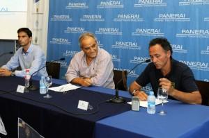 Momento de la presentación de la regata (Fotos: Tolo Mercadal)
