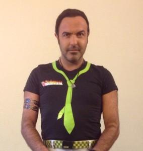 Simón Orfila caracterizado como el vendedor de pociones Dulcamara. Foto: S.O.
