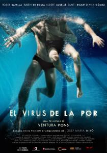 Cartel de la película 'El virus de la por'.