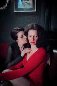 En 'Dijous de passió' actúan Alexandra Palomo y Marga López.