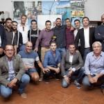 Participantes, miembros del jurado y representantes de Xoriguer al final del certamen. FOTO.- Albert Vall