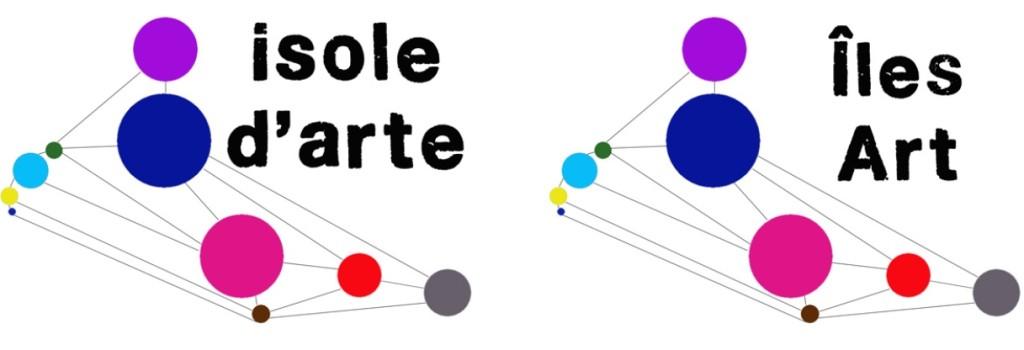 Fragment logo 'Illes d'Art'
