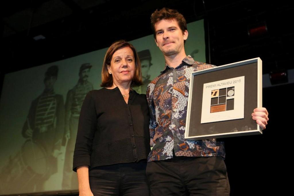 Marco Mezquida premio Altaveu 2015