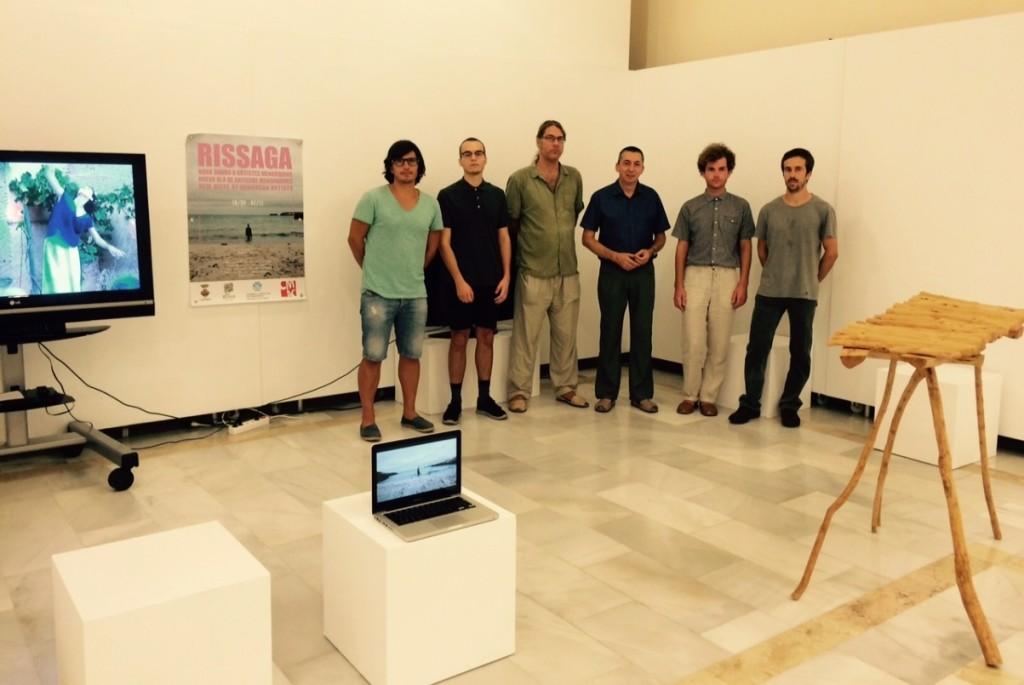 Presentación exposición Rissaga en el Roser. Foto CIM