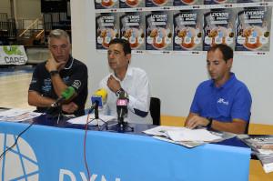 Antón Soler, Elies Utset y Xavi Carreras.