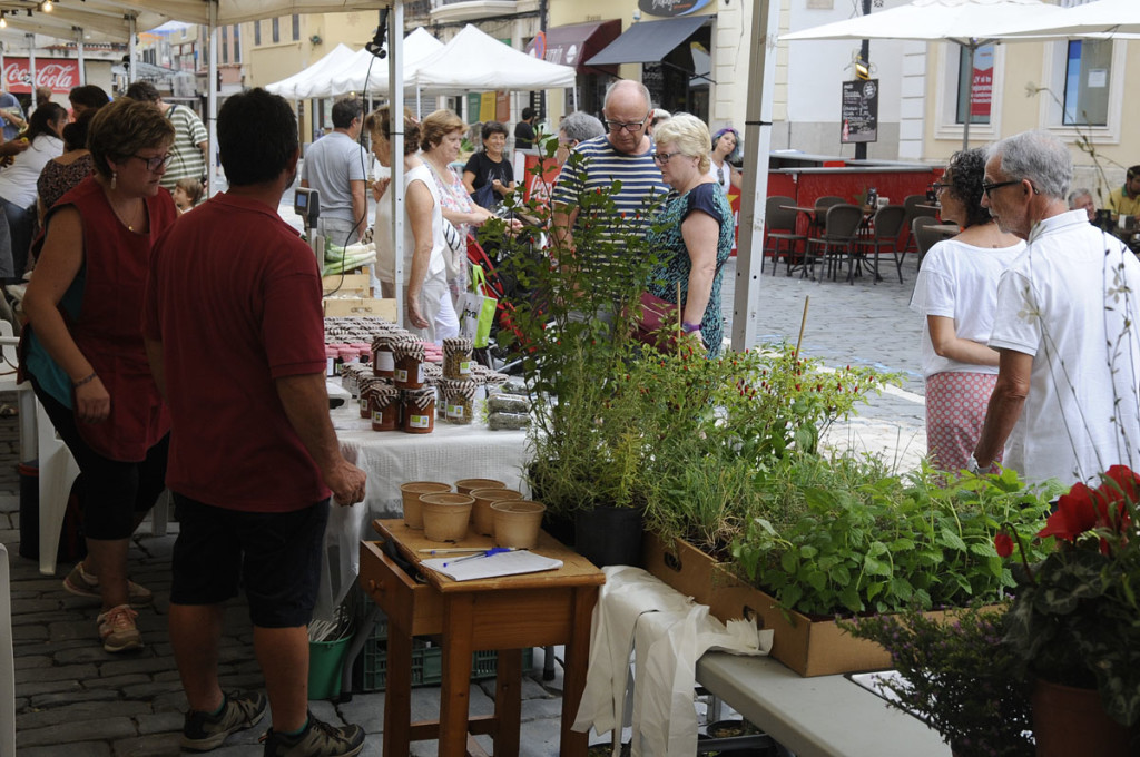 fira de productos de agricultura ecologia